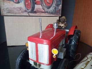 tractor de paya