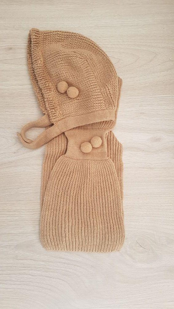 conjunto bufanda y capota patricia mendidulce