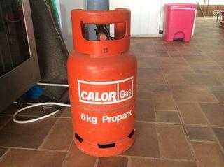 Empty gas bottle 6kg propane