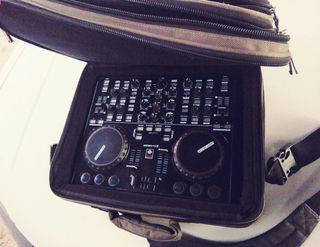 controladora dj midi y mesa de mezclas