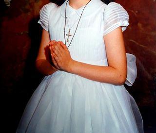 Vestido niña comunión firma NANOS