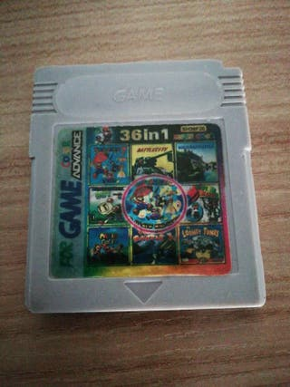 Game boy color 36 games in 1