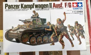 Maqueta TAMIYA 1/35 - Panzer Kampfwagen Ii ausf. F