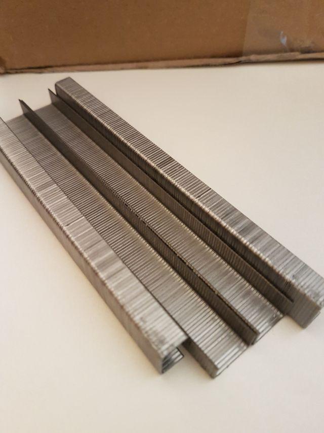 Grapas industriales para tapizar/caja 10000pcs