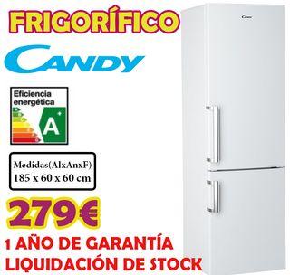 LIQUIDACIÓN Frigorificos Candy A+ 185cm