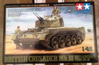 Maqueta TAMIYA 1/48 - British Crusader MK III Anti