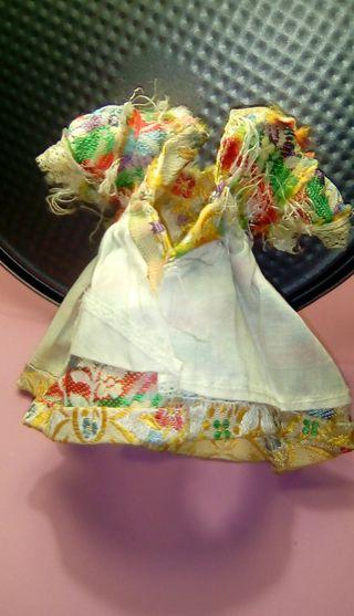 muñecas vestidos