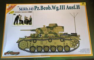 Maqueta DRAGON 1/35 - Sd.Kfz. 143 Pz. Beob Wg III