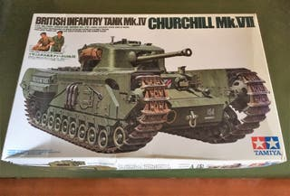 Maqueta TAMIYA 1/35 - Churchill MK VII - REF. 210