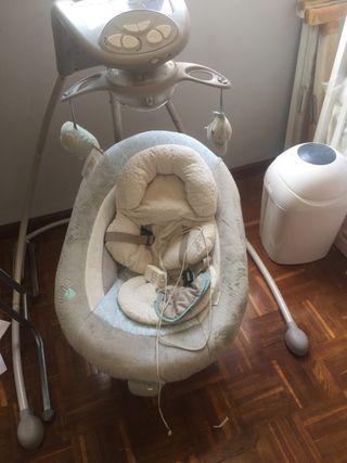 Columpio eléctrico bebé ingenuity