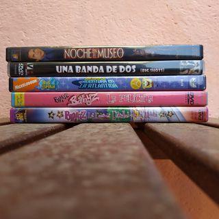 Lote Peliculas DVD 4