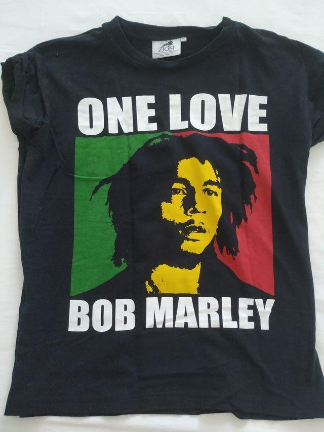 sensación cómoda guapo disfruta el precio de liquidación Camiseta Bob Marley de segunda mano por 6 € en Santa Cruz de ...