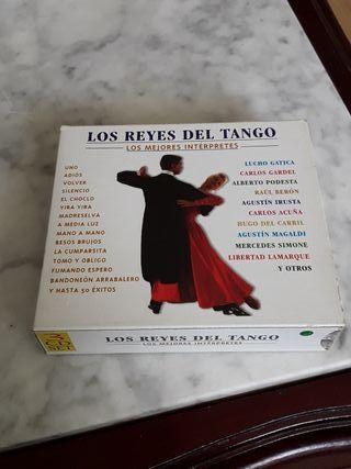 LOS REYES DEL TANGO..LOS MEJORES INTÉRPRETES
