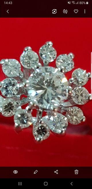81cd5b8f6ec6 Diamante 1 kilate de segunda mano en WALLAPOP