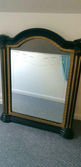 versace inspired mirror