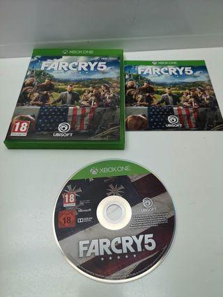 Juego Xbox One Far Cry 5 Completo