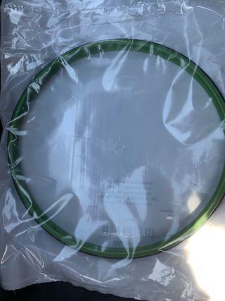 Junta goma verde tapa vaso tm31