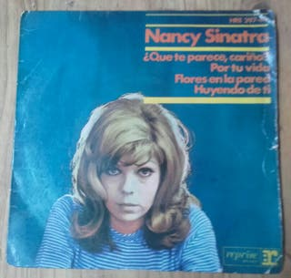 "nancy sinatra 7"" single vinilo"