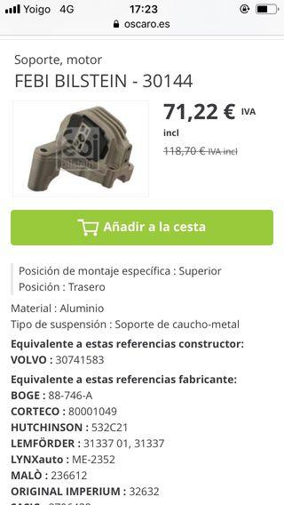 Soportes ( tacos ) motor volvo v70