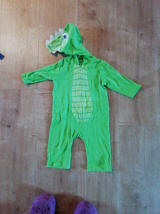 disfraz pijama cocodrilo
