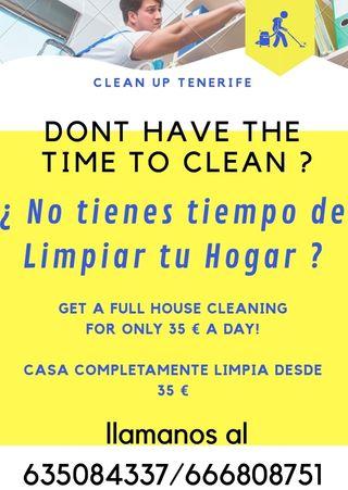 servicio de Limpieza / cleaning service