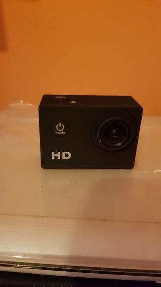 cámara deportiva HD, nueva