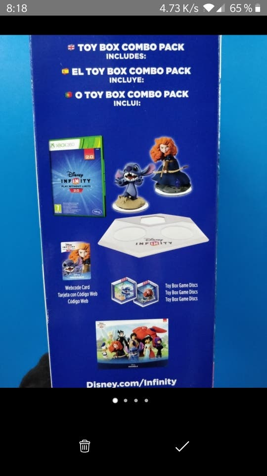 Disney Infinity Mérida y Stitch Xbox 360