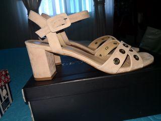 Zapato abierto. Verano Talla 39