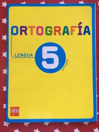 Ortografía para 5° de Primaria