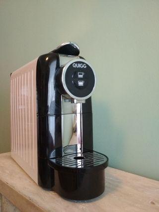 Cafetera de cápsulas eléctrica 1145W MARCA QUIGG