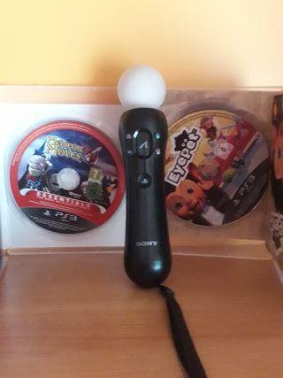 2 juegos+mando