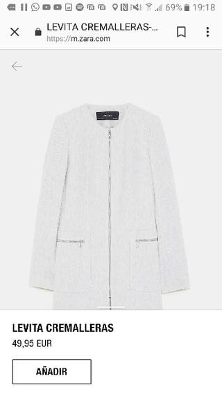 abrigo primavera Zara