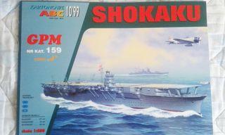 Maqueta de cartón GPM 0159 Shokaku 1:200