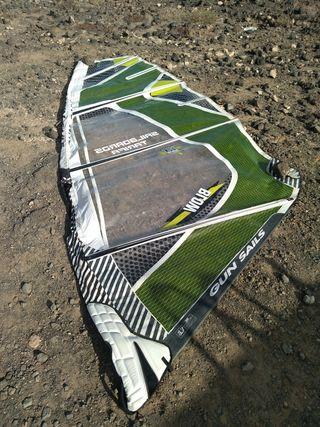 vela windsurf 5.7 Gun sail