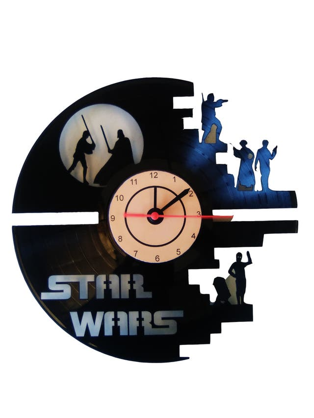 Reloj de Star wars
