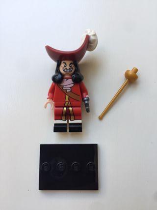 Lego Disney Capitán Hook Minifigura