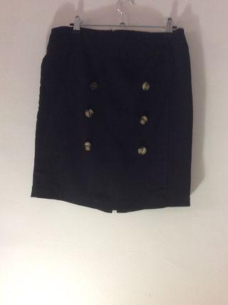 44f1c033ed8 Falda negra botones de segunda mano en la provincia de Valencia en ...