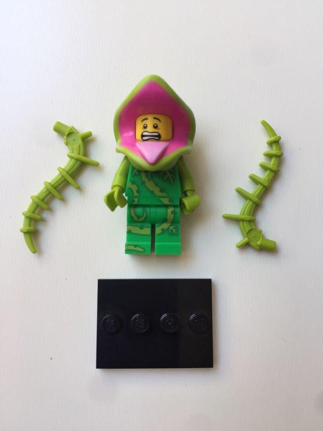 Lego minifigura planta monstro , serie 14