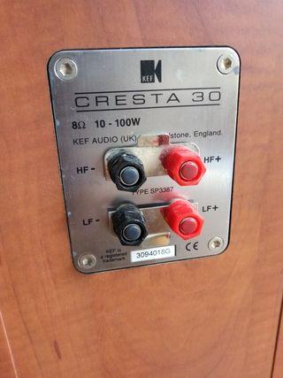 Altavoces KEF Cresta 30