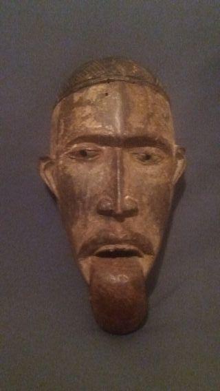 Máscara Africana BAKONGO