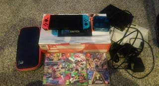 Nintendo switch comes in box