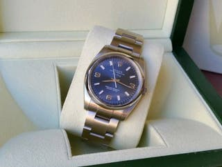 Rolex Air King 5500 Blue dial