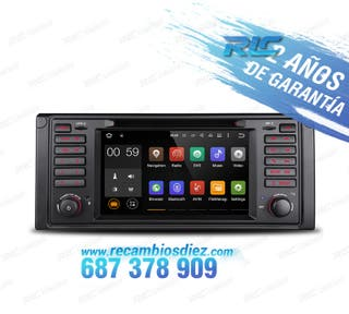 "RADIO ANDROID 5.1 7"" BMW E39 USB GPS HD"