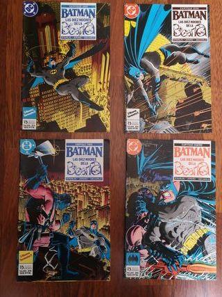 Lote 3 Batman Las diez noches de la Bestia