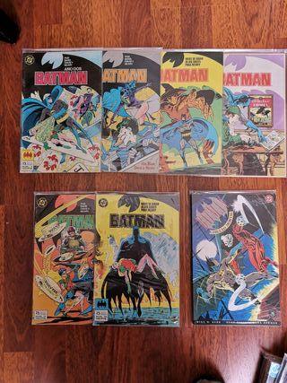 Lote 4 Batman de Alan Davis