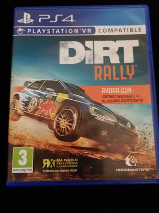 Juego Dirt Rally PS4