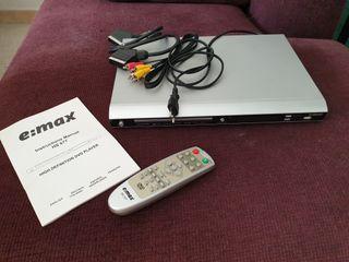 Reproductor dvd E;Max