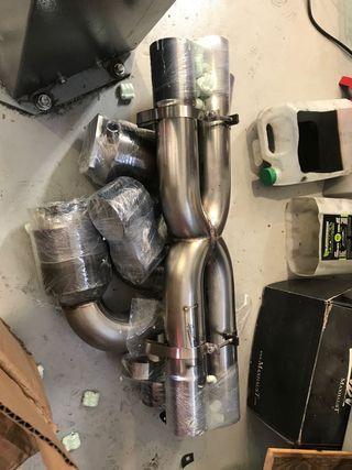 Escape Speedtech, catalizadores 200 cel. 997 Turbo