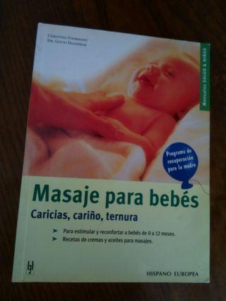 "Libro ""Masaje para bebés"""