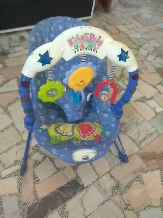 silla mecedora de bebé